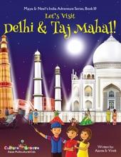Let's Visit Delhi & Taj Mahal! (Maya & Neel's India Adventure Series) (Volume 10)