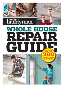 Family Handyman Whole House Repair Guide Book Cover
