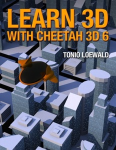 Learn 3D with Cheetah 3D 6 Book Cover
