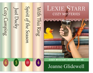 Lexie Starr Cozy Mysteries Boxed Set (Books 4 to 6) Book Cover