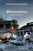 Fiche de lecture illustrée - Rhinocéros, d'Eugène Ionesco Book Cover