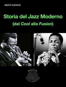 Storia del Jazz Moderno Copertina del libro