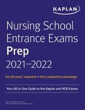 Nursing School Entrance Exams Prep 2021-2022