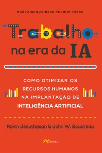 Trabalho na era da IA Book Cover