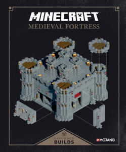 Minecraft: Exploded Builds: Medieval Fortress Book Cover