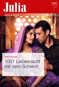 1001 Liebesnacht mit dem Scheich von Dani Collins Buch-Cover