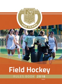 2018 NFHS FIELD HOCKEY RULES BOOK
