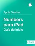 Guía de inicio de Numbers para iPad