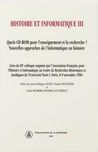 Histoire Et Informatique III