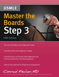 Master the Boards USMLE Step 3 book