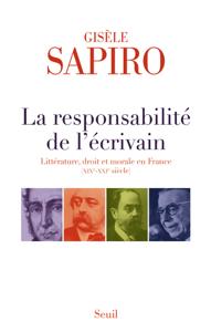 La Responsabilité de l'écrivain. Littérature, droit et morale en France (XIXe-XXIe siècle) La couverture du livre martien