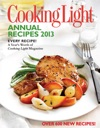 Cooking Light Annual Recipes 2013