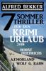 Alfred Bekker, Horst Friedrichs, Wolf G. Rahn & A. F. Morland - 7 Sommer Thriller für den Krimi-Urlaub 2018 artwork