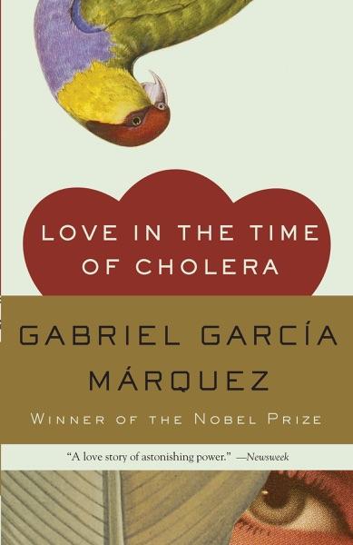 Love in the Time of Cholera - Gabriel García Márquez book cover