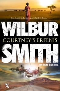 Courtney's erfenis Door Wilbur Smith Boekomslag