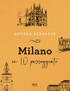 Milano in 10 passeggiate Copertina del libro
