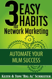3 Easy Habits for Network Marketing Book Cover