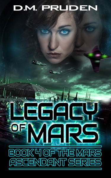 Legacy of Mars - D.M. Pruden book cover