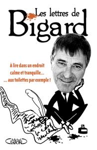 Les Lettres de Bigard La couverture du livre martien
