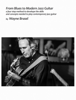 Wayne Brasel - From Blues to Modern Jazz Guitar                              a four step method to develope the skills                                                              and concepts needed to play contemporary jazz guitar                                by Wayne Brasel artwork