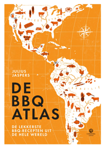De BBQatlas Boekomslag