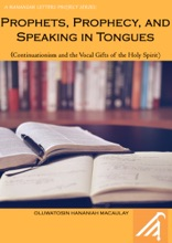 Prophets Prophecy Speaking In Tongues