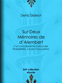 Sur Deux Mémoires de d'Alembert