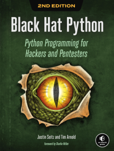 Black Hat Python, 2nd Edition Libro Cover