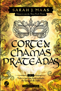 Corte de chamas prateadas (Vol. 4 Corte de espinhos e rosas) Capa de livro
