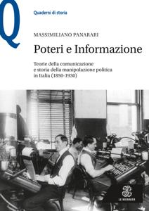 POTERI E INFORMAZIONE - Edizione digitale Copertina del libro