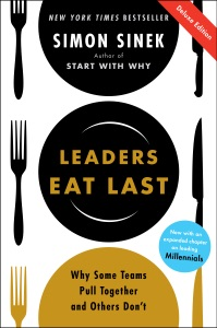 Leaders Eat Last Deluxe Book Cover