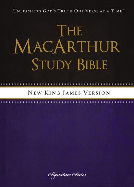 NKJV, The MacArthur Study Bible, eBook