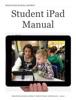 Student iPad Manual