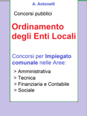 Concorso Impiegato comunale - Ordinamento degli Enti Locali Book Cover