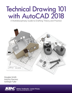 Technical Drawing 101 with AutoCAD 2018 Libro Cover
