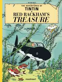 Red Rackham's Treasure book