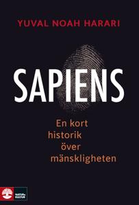 Sapiens : En kort historik över mänskligheten Cover Book