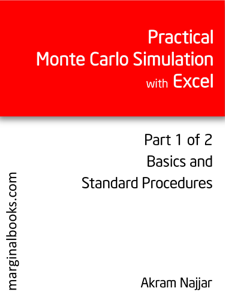Practical Monte Carlo Simulation with Excel - Part 1 of 2 Libro Cover