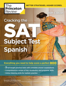 Cracking the SAT Subject Test in Spanish, 16th Edition Book Cover