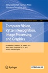 Computer Vision Pattern Recognition Image Processing And Graphics
