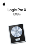 Apple Inc. - Effets de Logic Pro X artwork