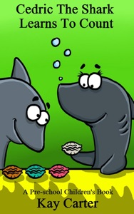 Cedric The Shark Learns To Count Book Cover