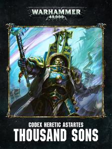 Codex: Chaos Thousand Sons Enhanced Edition Cover Book