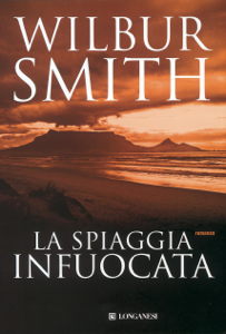 La spiaggia infuocata Libro Cover