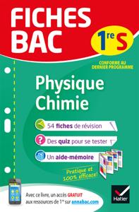 Fiches bac Physique-Chimie 1re S La couverture du livre martien