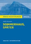 Sommerhaus, später. Königs Erläuterungen.