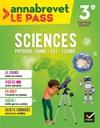 Sciences SVT Physique-chimie Technologie 3e Brevet 2018