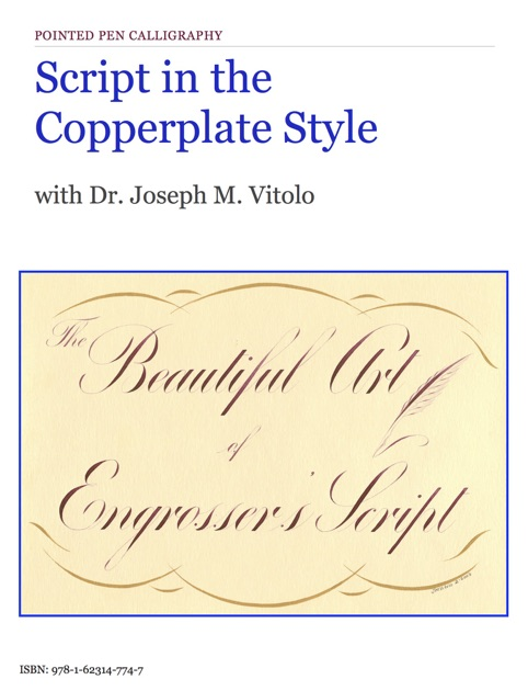 script in the copperplate style by dr joseph m vitolo on apple books