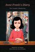 Anne Frank's Diary: The Graphic Adaptation Book Cover