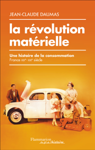 La révolution matérielle La couverture du livre martien